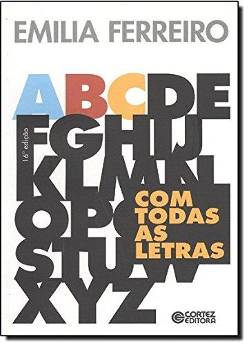 Com todas as letras, livro de Emilia Ferreiro