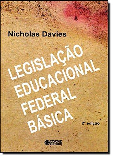 Legislação educacional federal básica, livro de DAVIES, NICHOLAS