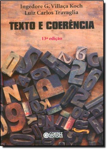 Texto e coerência, livro de Luiz Carlos Travaglia e Ingedore Villaça Koch