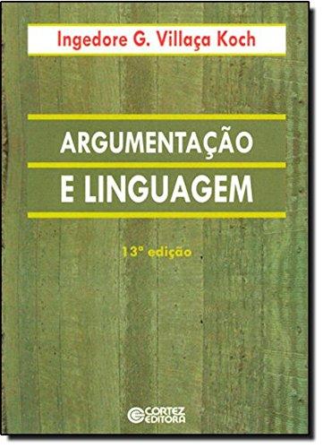 Argumentação e linguagem, livro de Ingedore Villaça Koch