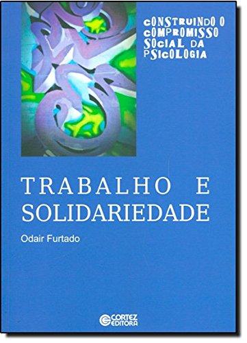 Trabalho e solidariedade, livro de Odair Furtado