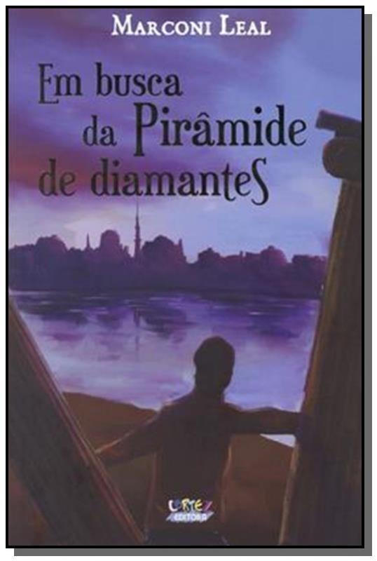 Em busca da pirâmide de diamantes, livro de Marconi Leal, Rodrigo Abrahim [ilustrações]