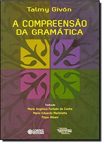 Compreensão da gramática, A, livro de Filipe Albani