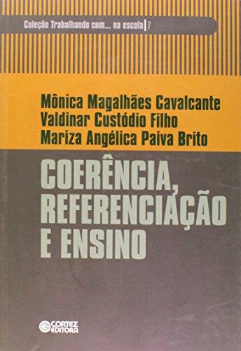 Coerência, referenciação e ensino, livro de Mariza Angélica Paiva Brito