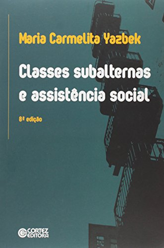Classes Subalternas e Assistência Social, livro de Maria Carmelita Yazbek
