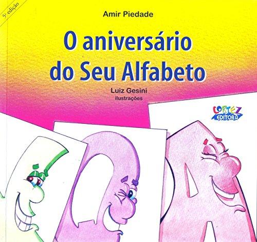 Aniversário do Seu Alfabeto, O, livro de Amir Piedade, Luiz Gesini