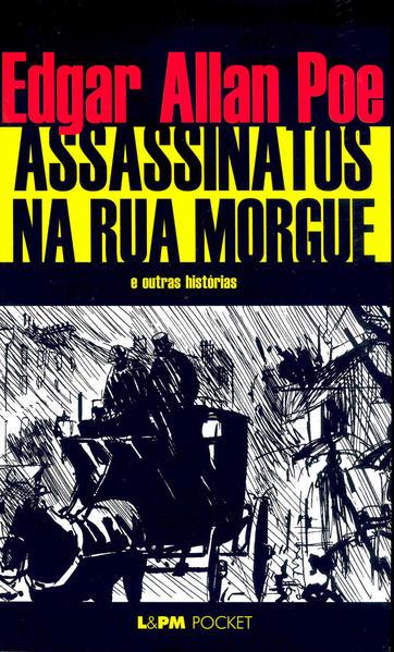Assassinatos na rua Morgue, livro de Edgar Allan Poe