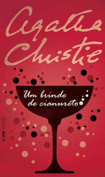 Um brinde de cianureto, livro de Agatha Christie