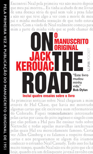 ON THE ROAD - O MANUSCRITO ORIGINAL (POCKET), livro de Jack Kerouac