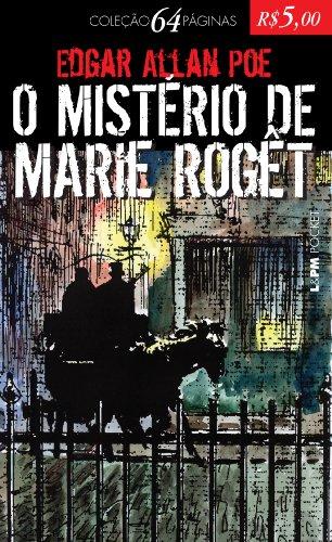 O MISTÉRIO DE MARIE ROGÊT, livro de Edgar Allan Poe