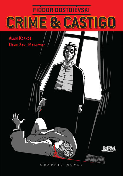 Crime e castigo: graphic novel, livro de Dostoievski, Fiodor; Mairowitz, David Zane