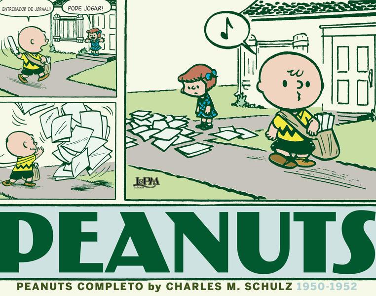 Peanuts completo: 1950 a 1952 - vol. 1. Capa brochura, livro de Charles M. Schulz