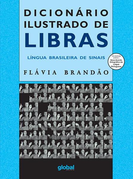 Dicionário Ilustrado de Libras, livro de Flávia Brandão