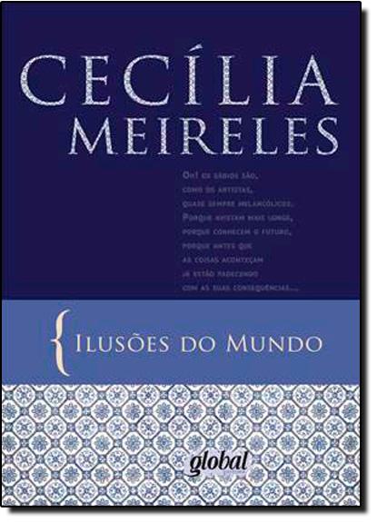 Ilusões do Mundo, livro de Cecília Meireles