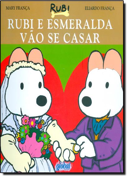 Rubi e Esmeralda Vão Se Casar, livro de Eliardo França