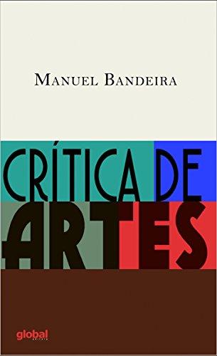 Critica de Artes, livro de Manuel Bandeira