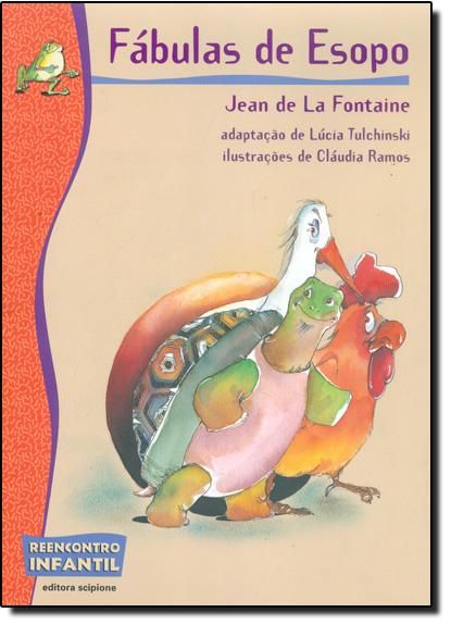 Fábulas de Esopo, livro de Jean de la Fontaine