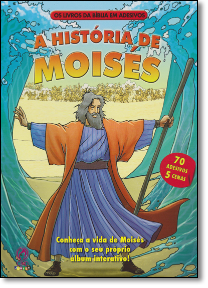 História de Moisés, A, livro de EDITORA CPAD