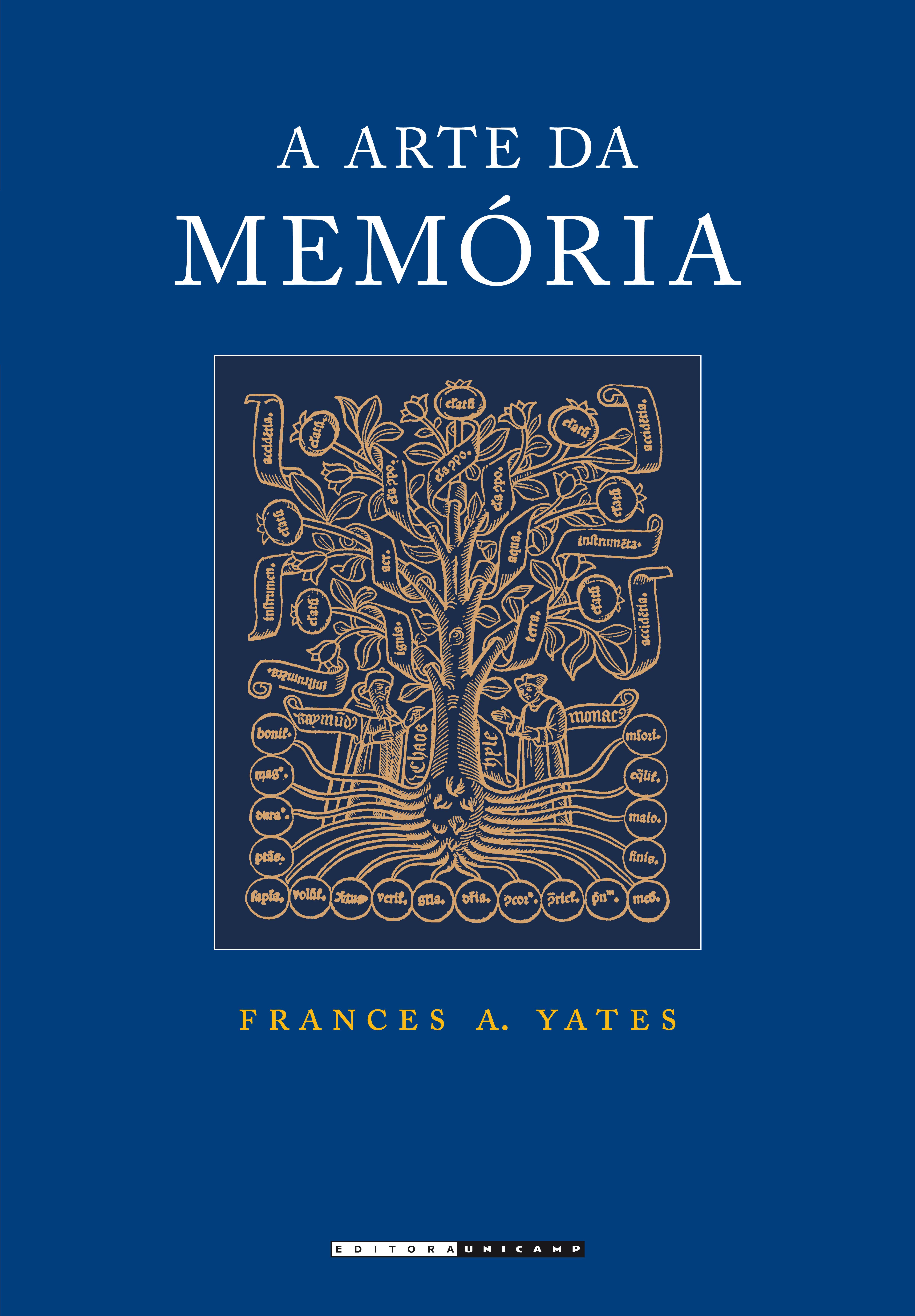 A Arte da Memória, livro de Frances A. Yates
