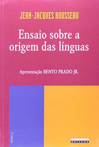 Ensaio sobre a origem das línguas, livro de Jean-Jacques Rousseau