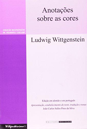 Anotações sobre as cores (Bemerkungen über die Farben), livro de Ludwig Wittgenstein
