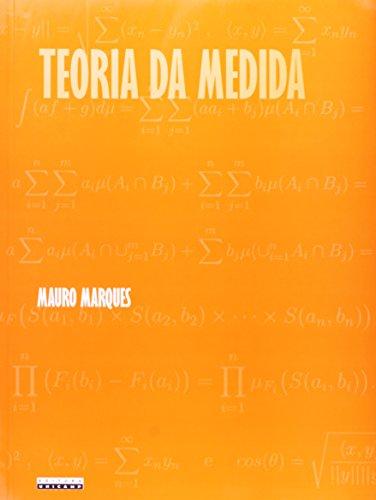 Teoria da medida, livro de Mauro S. de F. Marques