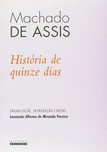 História de quinze dias, livro de Machado de Assis