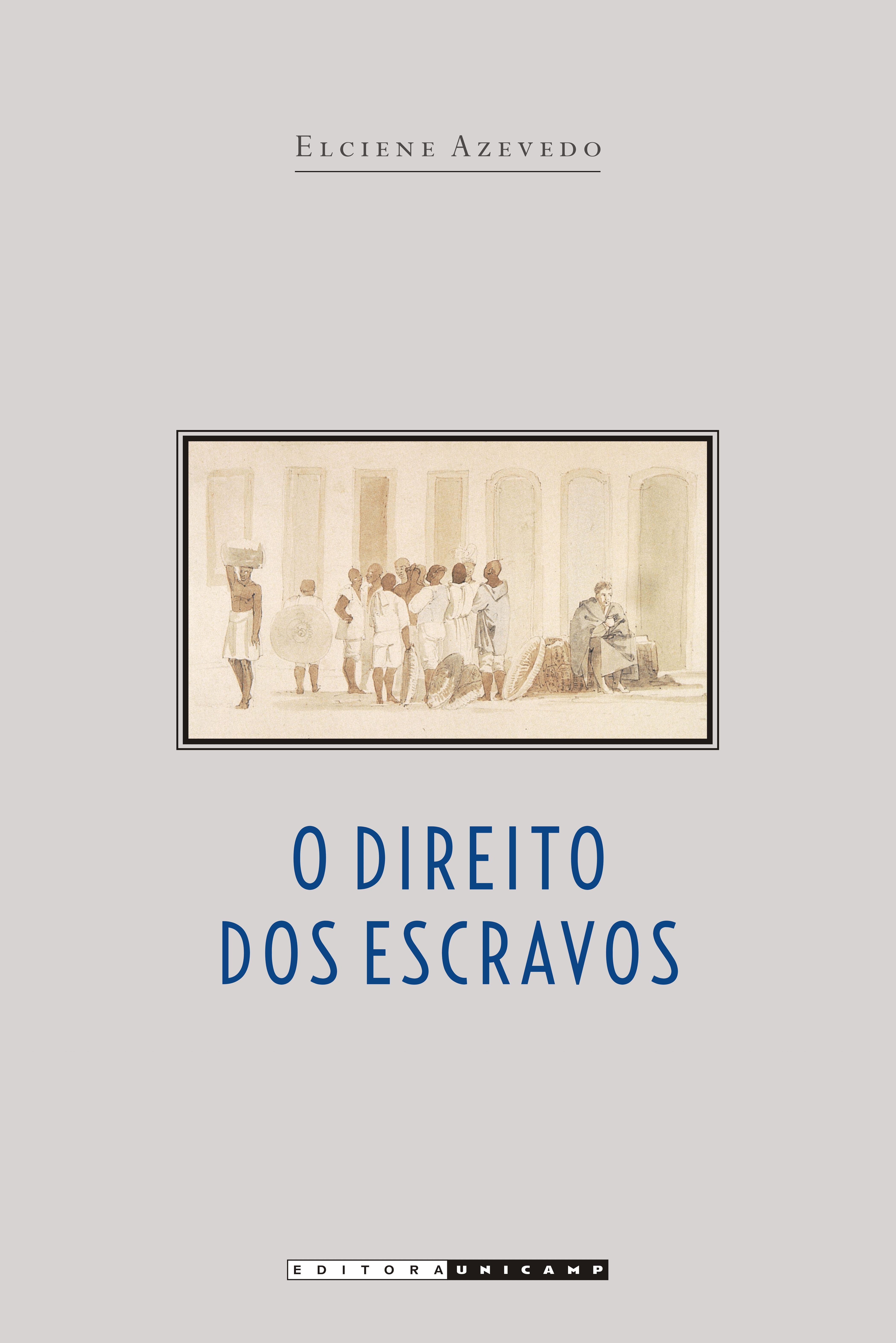 O direito dos escravos - Lutas jurídicas e abolicionismo na província de São Paulo, livro de Elciene Azevedo