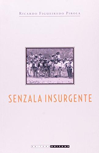 Senzala insurgente - Malungos, parentes e rebeldes nas fazendas de campinas, 1832, livro de Ricardo Figueiredo Pirola
