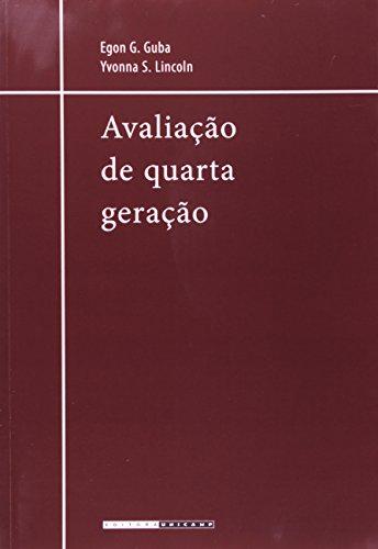 Avaliação de quarta geração, livro de Egon G. Guba, Yvonna S. Lincoln