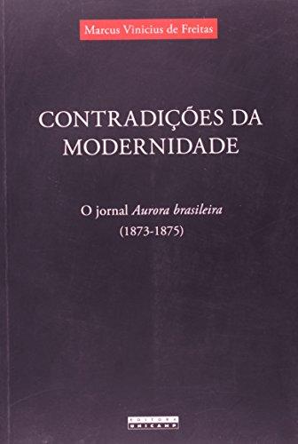 Contradições da Modernidade, livro de Marcus Vinicius de Freitas
