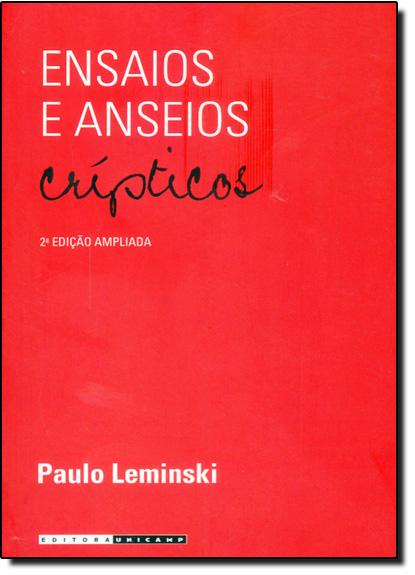 Ensaios e Anseios Crípticos, livro de Paulo Leminski