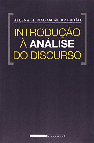 Introdução à análise do discurso, livro de Helena H. Nagamine Brandão
