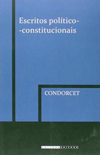 Escritos político-constitucionais, livro de Condorcet