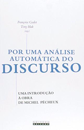 Por Uma Análise Automática do Discurso, livro de Françoise Gadet