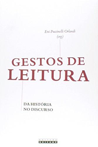 Gestos de Leitura - Da história no discurso, livro de Eni Puccinelli Orlandi (Org.)