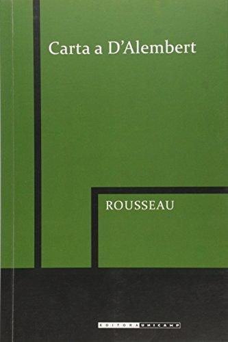 Carta a Dalembert, livro de Jean-Jacques Rousseau