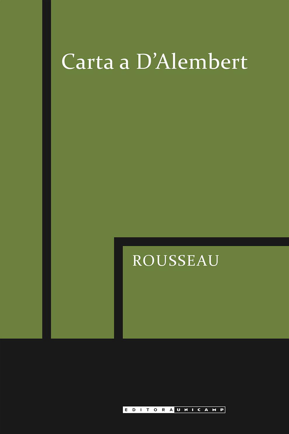 Carta a D'Alembert, livro de Jean-Jacques Rousseau