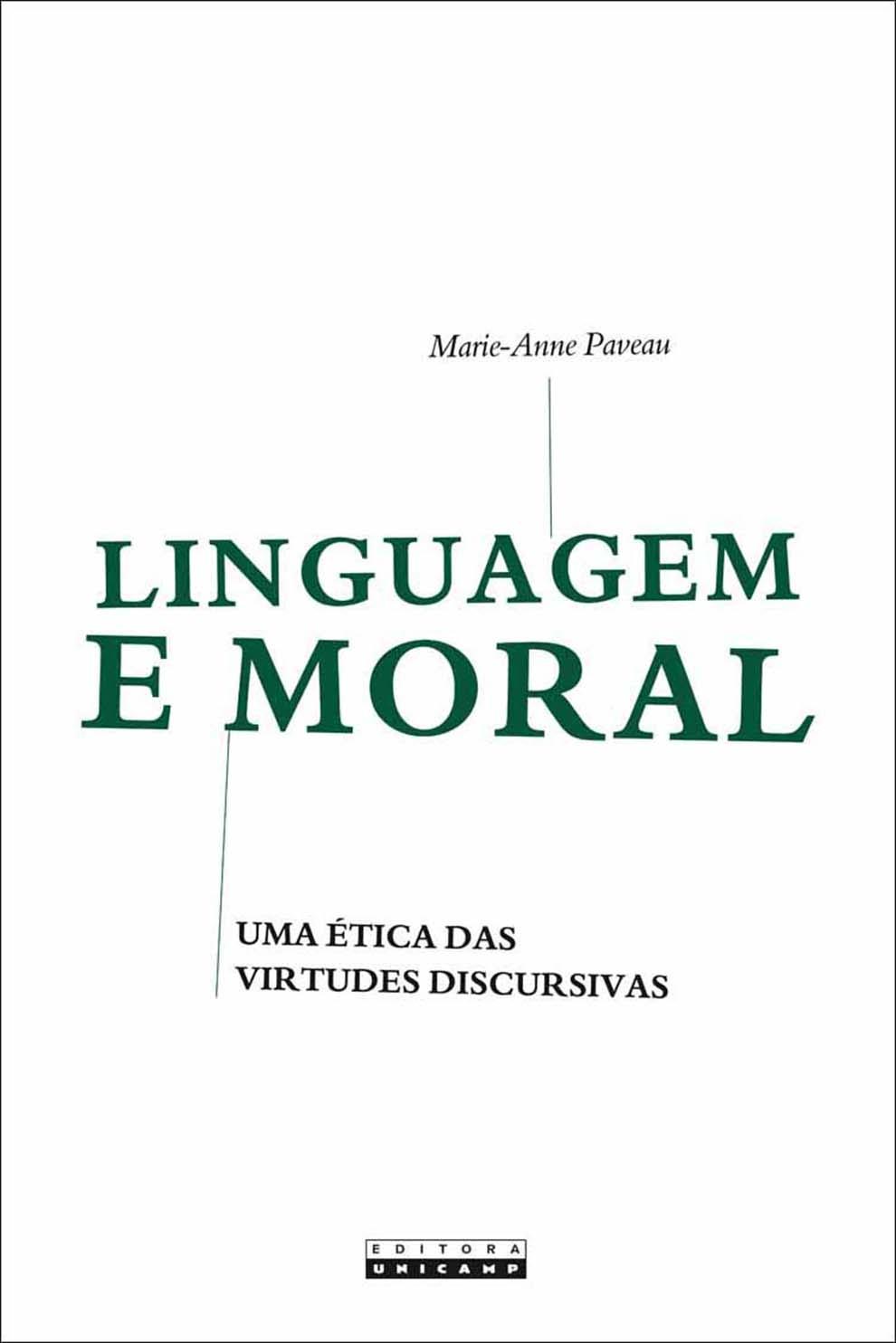 Linguagem e moral, livro de Marie-Anne Paveau