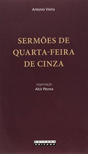 Sermões de Quarta-Feira de Cinzas, livro de Antonio Vieira