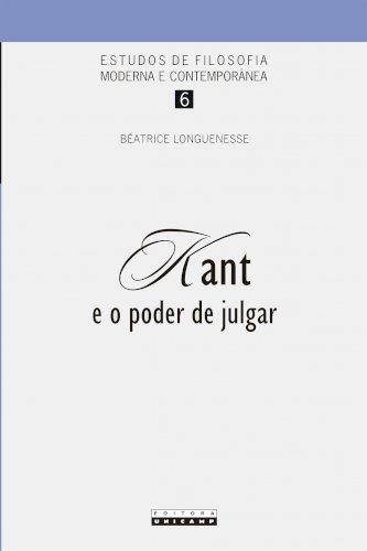 Kant e o poder de julgar, livro de Beatrice Longuenesse