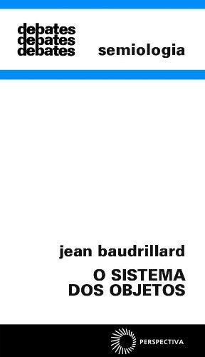 O Sistema dos Objetos, livro de Jean Baudrillard