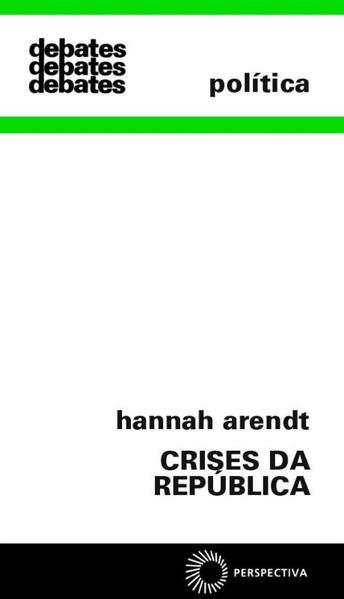 Crises da República, livro de Hannah Arendt