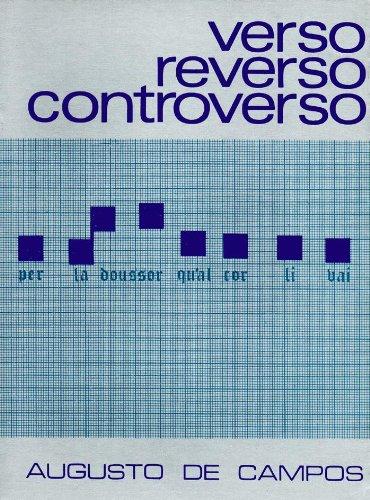 Verso, Reverso, Controverso, livro de Augusto de Campos