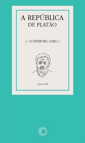 A República de Platão, livro de J. Guinsburg