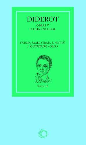 Diderot. Obras V. O Filho Natural, livro de J. Guinsburg
