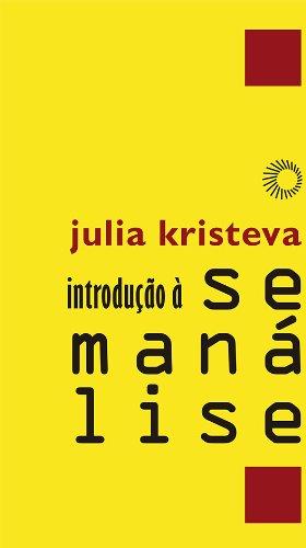 Introdução à Semanálise, livro de Julia Kristeva