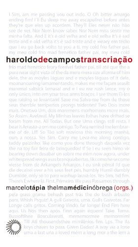 Haroldo de Campos - Transcriação, livro de Marcelo Tápia, Thelma Médici Nóbrega
