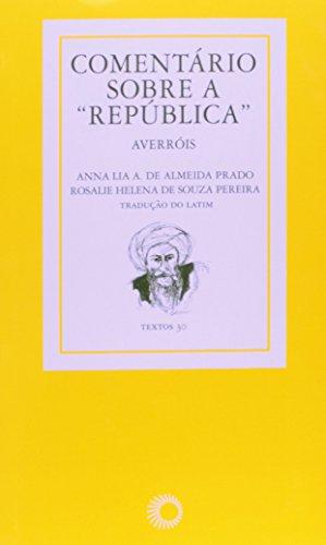 Comentários Sobre a República, livro de Averróis