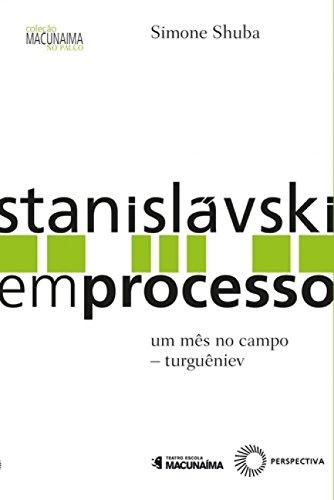 Stanislávski em Processo, livro de Simone Shuba